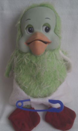 Adorable Vintage 1970s Rare Talking 'Orville the Duck' Plush Toy